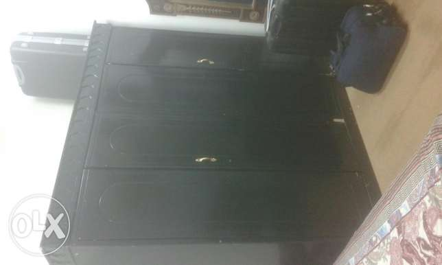 Bed and cabinet for sale