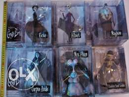 Corpse Bride figure set (6, unopened)