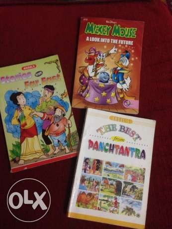 Kids story books+comics
