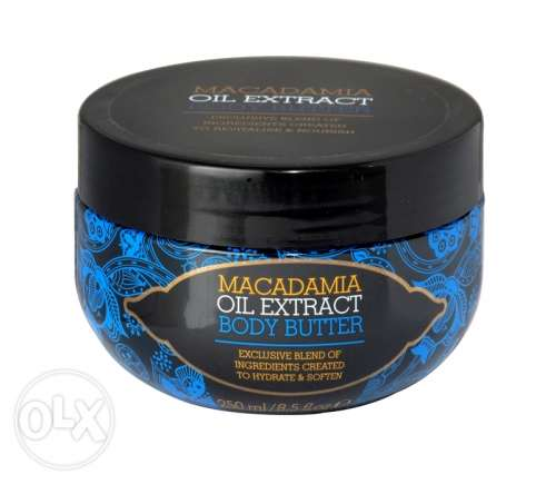 MACADAMIA OIL Extract Body Butter 250ML