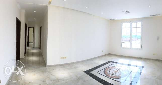 Spacious 3 BR Unfurnished apartment