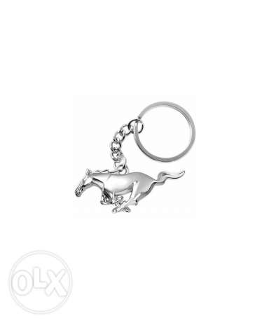 Mustang horse key chain