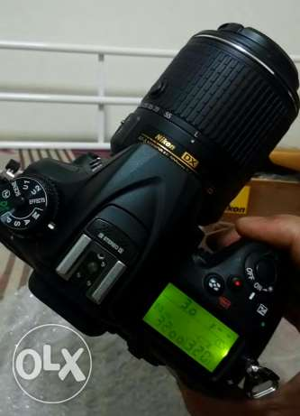 nikon d7200 new lessthan a month 2x used i want to exchange to canon