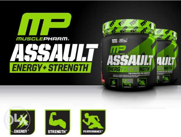 Muscle Pharm Assault Pre Workout