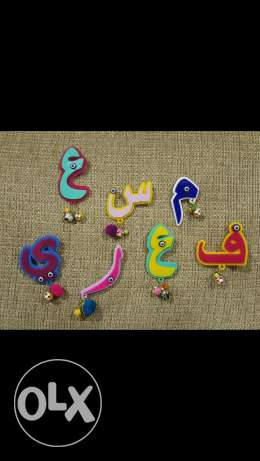 Customized Letter broche