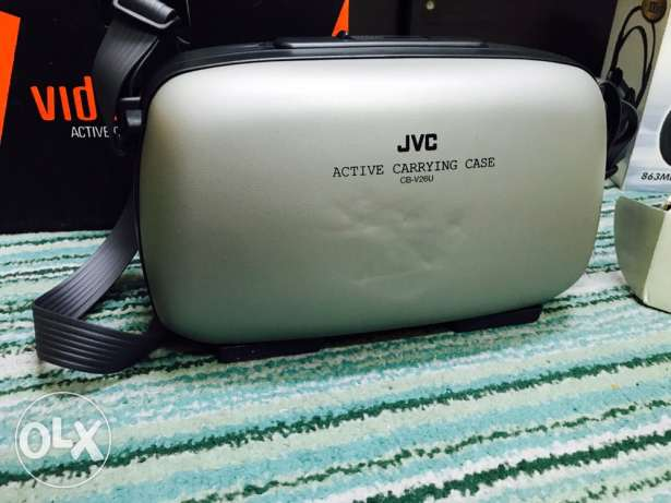 JVC carrying case hard