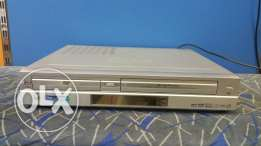 VCR with DVD in amplifier