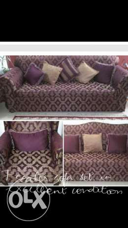 sofa set 7seater excellent condition