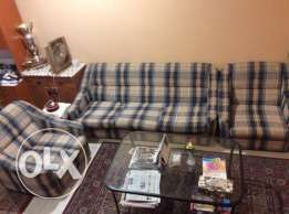 3 + 1 + 1 Sofa Set for Sale
