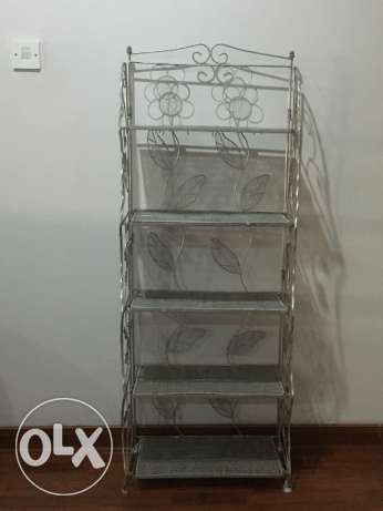 Foldable Shelving Stand
