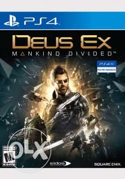 PS4 game- deus ex original 100%