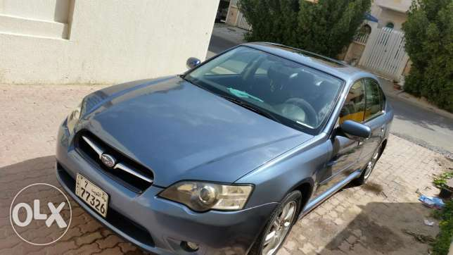 Subaru legacy 2006 full options urgent sale