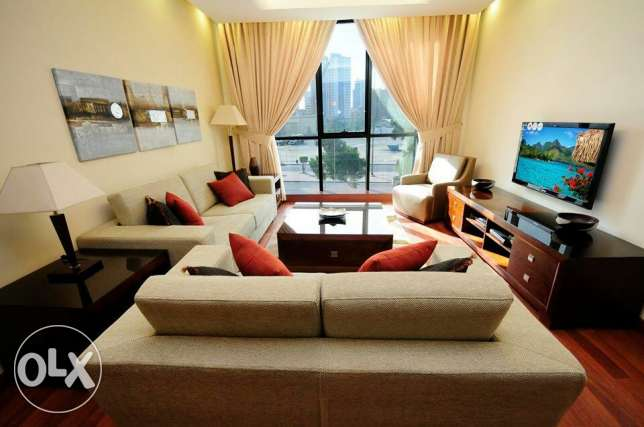 One bedroom serviced apartment for rent in Kuwait city - KD 550.