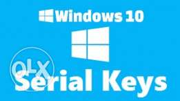 Windows 10 Pro serial number