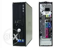 Dell cor2 Ram 4GB HDD 250