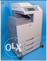 Hp all in one color laserjet mfp 4730