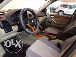 BMW X5 model 2003, good condition registered till July 2017.