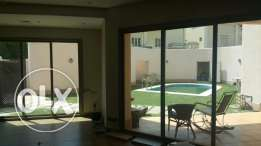 villa super deluxe for rent in Salam with swimming pool