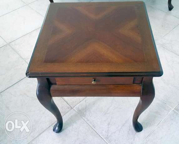 Small Elegant Wooden Coffee Table