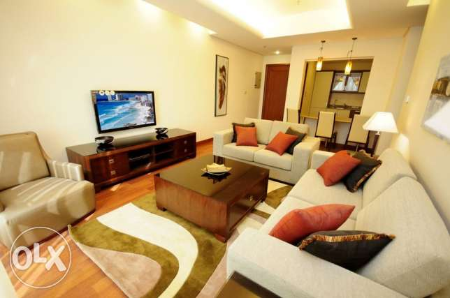 Sea view 2 bedroom fully furnished serviced apartment for rent in City