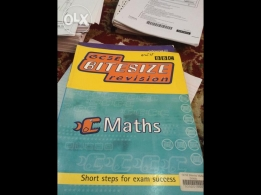 GCSE Math Revision in good condition for sale