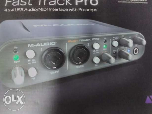 M Audio sound card for sale