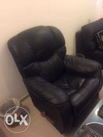 Leather chair very good condition