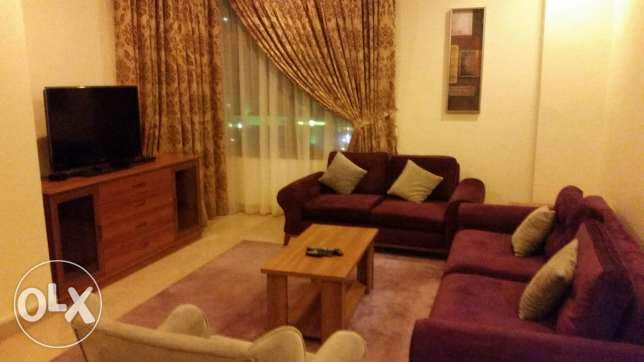 Salmiya spacious fully furnished flat 2 bhk