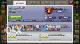 Clash of clan th 10 max troops