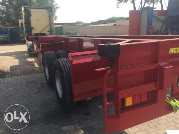 new flexi trailers for containers for sale