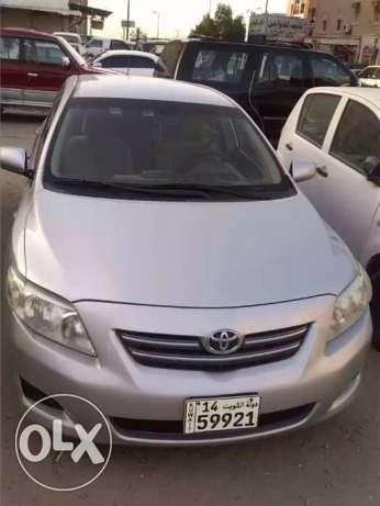 Urgent sale Toyota Corolla 2010 excellent condition