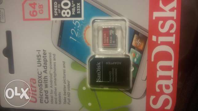Memory card 64 gb ultra high speed