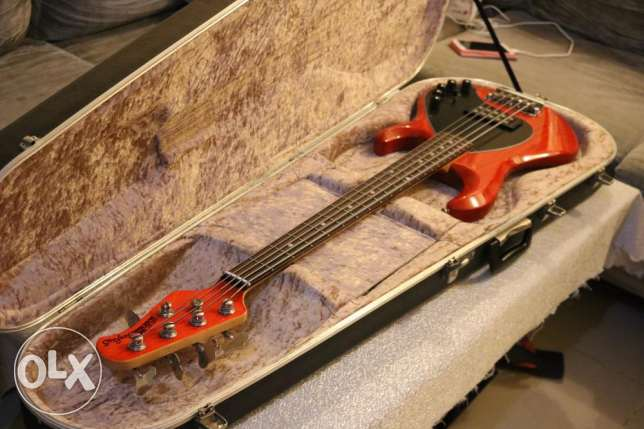 Musicman Stingray 5H Piezo Version Bass for sell..