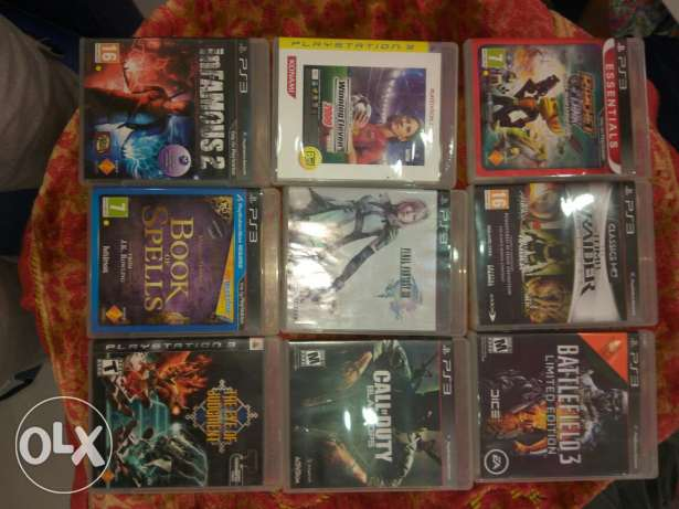 PS3 Games CD'S