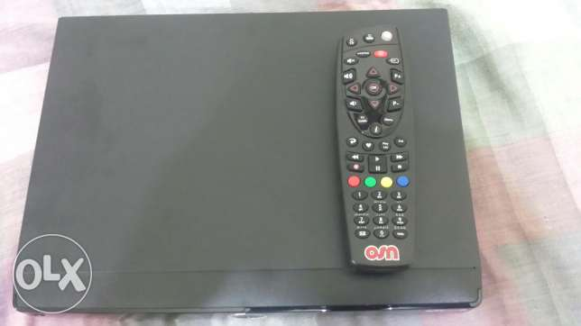 OSN Reciever with remote. No charger.