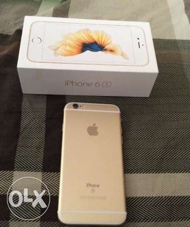 Iphone 6s gold color 64 gb like new for sale