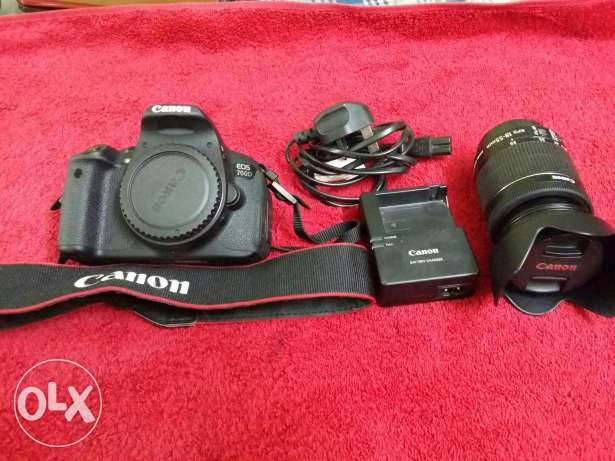 Canon 700D 18-55 canon lens & filters