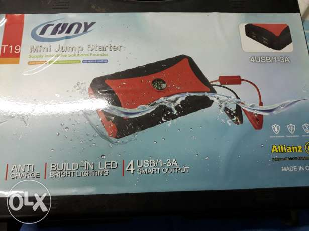 Jump starter kit for your car