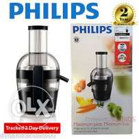Philips Viva Collection Alluminium Juicer 700 (HR1863/05) - Silver
