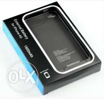 2PCS external charger case 1900mah for iphone 4/4s - FREE DELIVERY