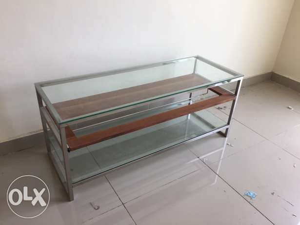 Modern style TV table