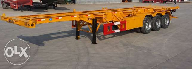new 3 axle flexi trailers for sale with warranty of chassis
