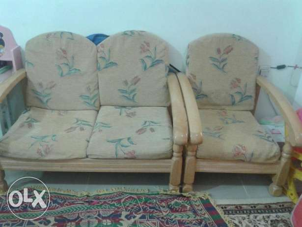 Sofa sets (3 + 2 + 1 ) for sell
