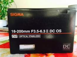 Sigma lens for Nikon mount