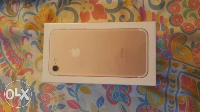 Iphone 7 256gb gold for sale brand new sealed pack