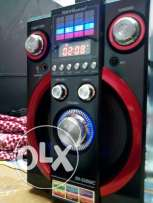 good condition speaker input USB memory card fm radio & rechargeable b