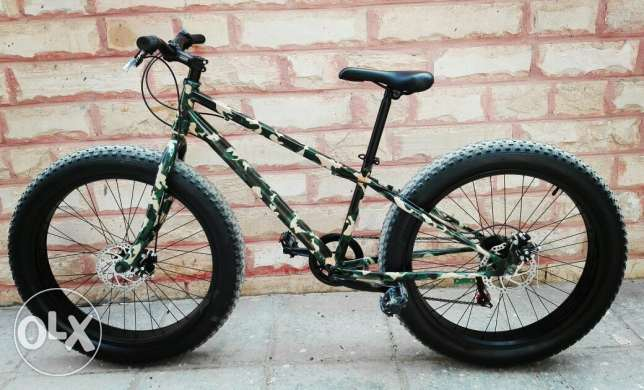 Camoflauge Fat Bike