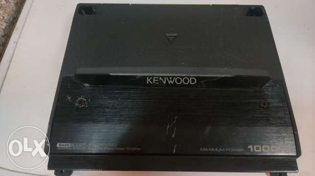 Kenwood amplifer