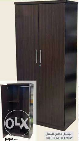 Double Door Wardrobe With Lock (FREE HOME DELIVERY)
