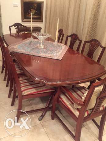 10 seater dining room set